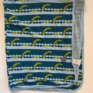 Kickee Sea Monster Swaddle